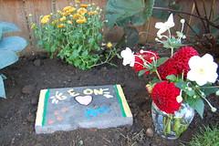 Leon's grave