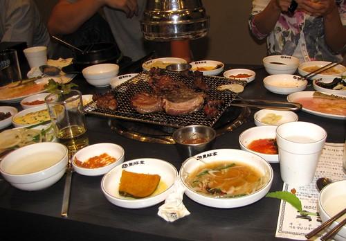 Korean dinner 3