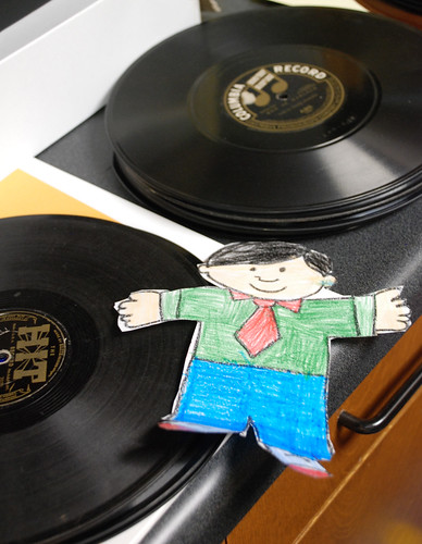 Flat Stanley learns about audio