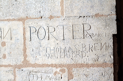 ancient graffiti,1756