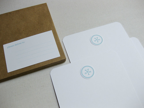 Personal Monogram Stationery