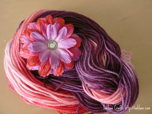 Pin & Hand Dyed Yarn