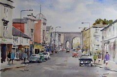 Chippenham, Wiltshire (melvynswatercolours) Tags: watercolour wiltshire chippenham gwr isambardkingdombrunel