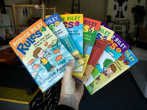 Seven Roscoe Rileys