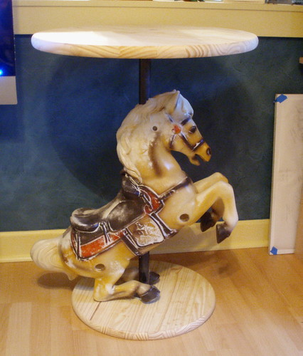 Spring horse, reincarnated