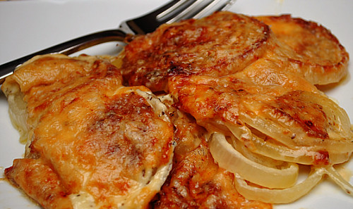 Parmesan Crusted Sweet Onions