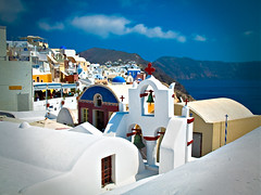 Oia, Santorini (lefteris_) Tags: santorini greece greekislands oia thera greekarchitecture colorfulhouses whitehouses