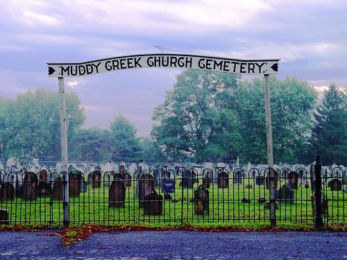 Muddy Creak Church cemetery