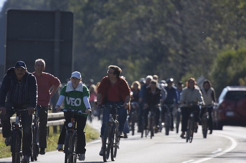 VEO Protest-Radeltour 2009