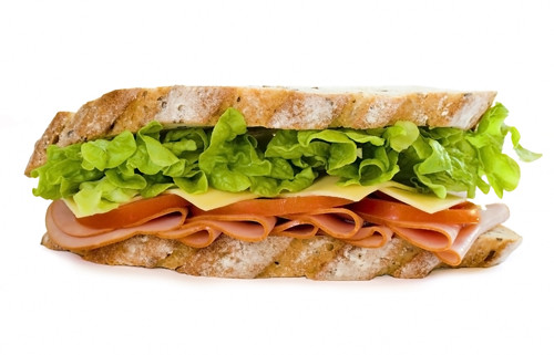 sandwich por você.