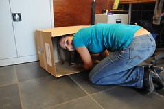 gevaarlijke doos in huis!