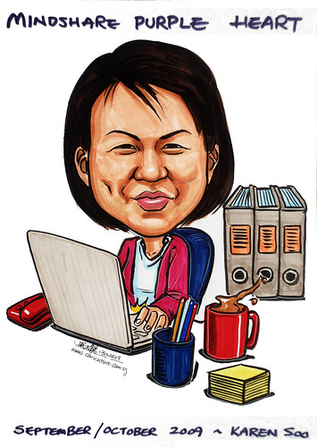 Caricature for Mindshare 131009 - 2