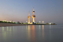 Kuwait Tower (nbknbk) Tags: nikon towers kuwait 1855 mohamed q8 ismael sharq dasman d60