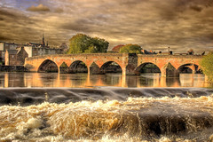 Devorgilla Bridge HDR (Donsfan) Tags: from bridge hdr available dumfries nith caul devorgilla reds1903aolcom