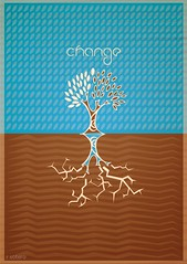 change (R.Sotero) Tags: tree illustration design graphic posters change illustrator ideas vector ilustrao cartaz grfico idias mude sotero rsotero positiveposters