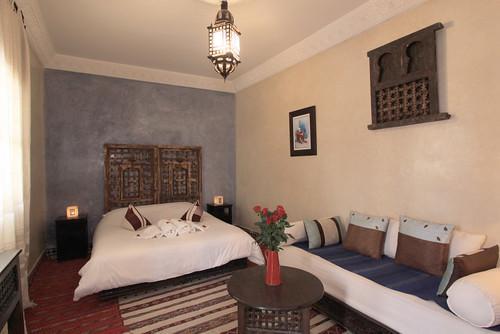 Marrakech Riad Akush Mur, l'architecture marocaine, Maison au Maroc