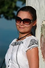 Olga on Krina Gora (peter++) Tags: portrait people white slovenia slovenija olga gora olja  krizna krina  olgam  oljga nairusi oljgam
