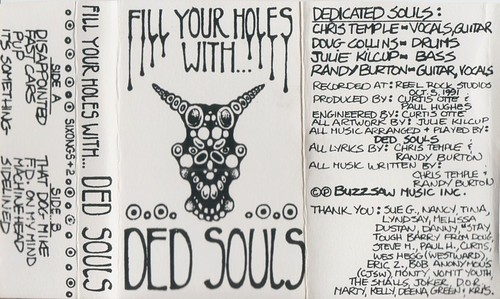 Ded Souls - Fill Your Holes With...