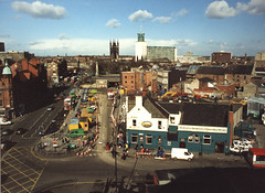 061930:Haymarket Newcastle upon Tyne Maybury Malcolm 1995 (Newcastle Libraries) Tags: buildings place commercial newcastleupontyne builtenvironment urbanandsuburban tynesidelifeandtimes