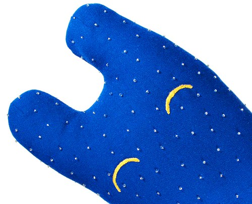 Happy Sleepy Star Dipped stuffed animarl art toy for sale on Etsy