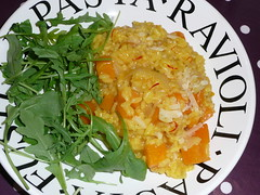 Agave-Roasted Butternut Squash Risotto