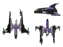 Ikari - VV (Fredoichi) Tags: fighter lego space shooter shootemup starfighter gradius shmup vicviper novvember fredoichi