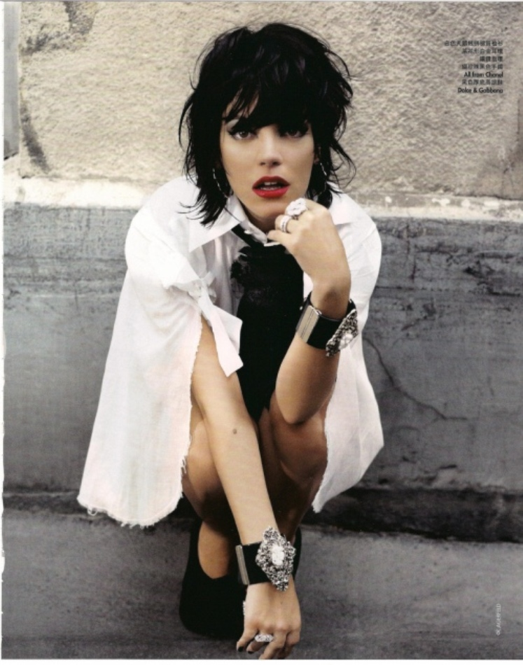 Lily Allen Hong Kong Elle