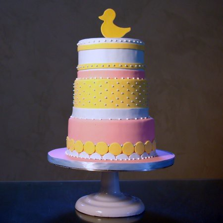 Rubber Duck Baby Shower Cakes http://wickedcakeshop.com/blog/?cat=19