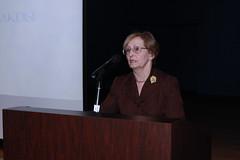 2009 Arab American Book Award Ceremony (Arab American National Museum) Tags: speech bookaward arabamerican aanm janiceterry sareemakdisi
