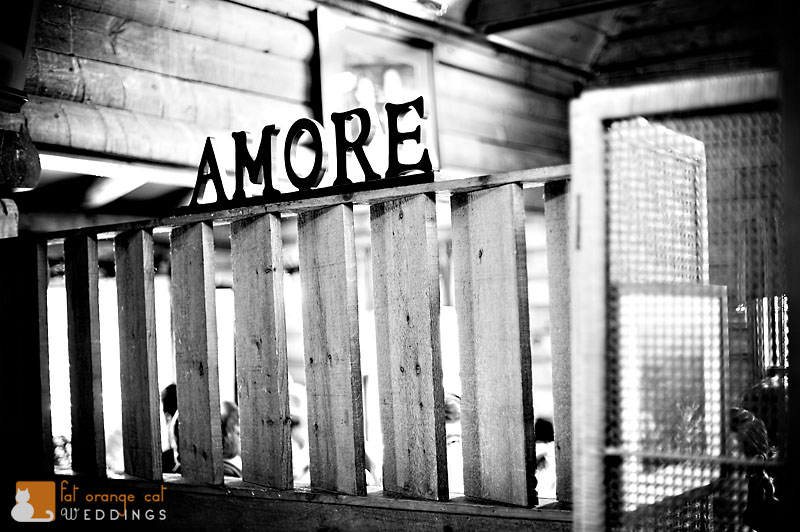 Amore restaurant sign