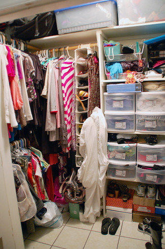 the madness that is my closet