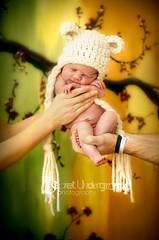 Little white bear (Trifin) Tags: bear baby girl hat nikon newborn d700 secretundergroundphotography
