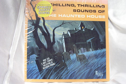 CHILLING THRILLING SOUNDS OF HAUNTED HOUSE HALLOWEEN RECORD LP