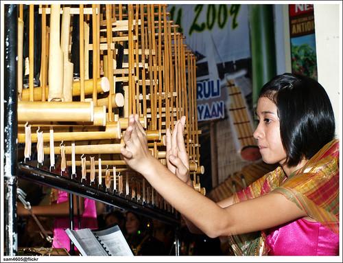 Bamboo Music Festival 2009, Tamparuli Sabah - Sumandak Angklung