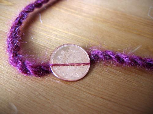 finer mohair thread