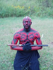 Dark Maul (ABC Bodyart) Tags: bodypaint facepaint bodyart seminude artisticnude paintedbodies artvisual