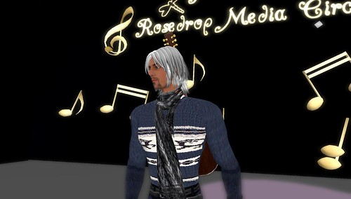 blues heron in virtual world second life