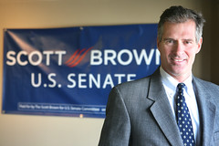 Scott Brown the candidate