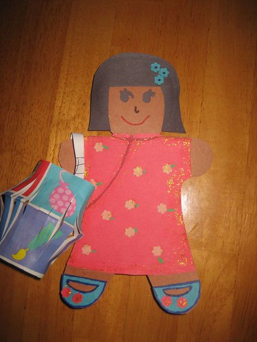 gingerbread girl craft