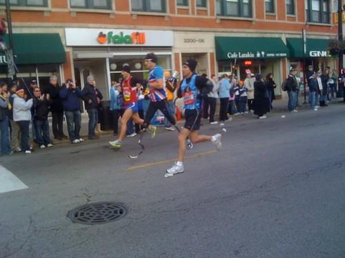Bionic Legs Chicago Marathon