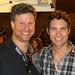 Dennis Gleason and Drew Seeley after a Radio Disney Concert