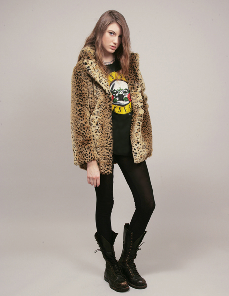 Motel Leopard Coat