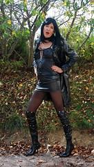 DSC_5161 (myryamdefrance) Tags: vinyl tgirl transgender tranny transvestite crossdresser transgenre cuissardes