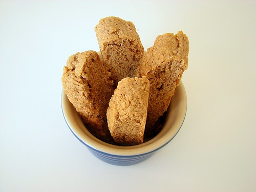 Soft Gingerbread Biscotti