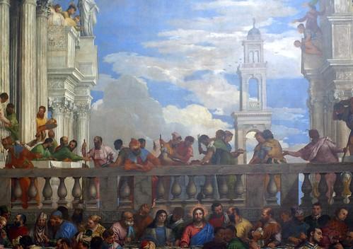 Paris Musee Du Louvre Hochzeit Zu Kana Von Paolo Veronese