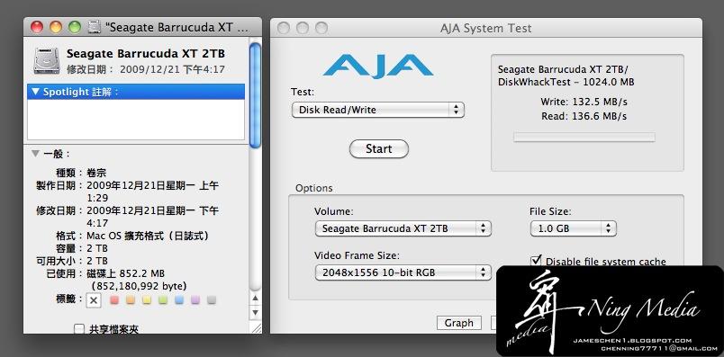 Seagate SATA測試