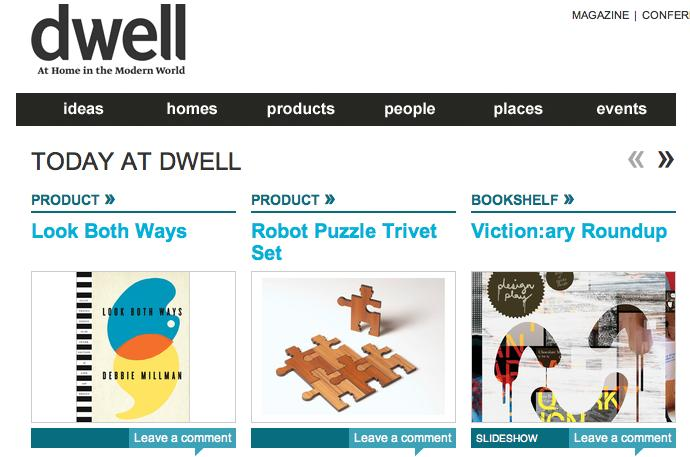 Dwell Product of the day!