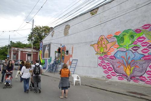Cultura urbana a coborat in strada Arthur Verona