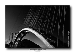 construction 1 (HoangHuyManh images) Tags: travel bridge arizona usa art grandcanyon hooverdam blackandwhitephotography interstate40 worldinbw level1photographyforrecreation level3photographyforrecreation level4photographyforrecreation level2photographyforrecreation