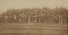 Photograph of Vestrymen and Visitors, July 14th 1862 (Museum of Photographic Arts Collections) Tags: people london water century construction july system photograph 14th visitors 1862 mid 19th active museumofphotographicarts vestrymen wbrown